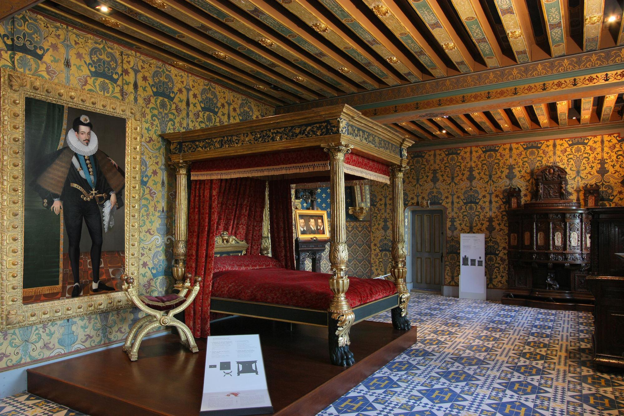 10 bonnes raisons de visiter le ch teau ch teau royal de blois. Black Bedroom Furniture Sets. Home Design Ideas