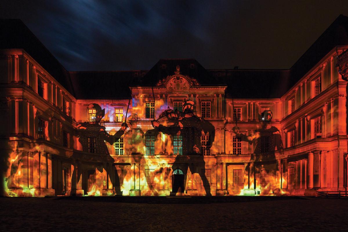Son Et Lumiere Chateau Royal De Blois